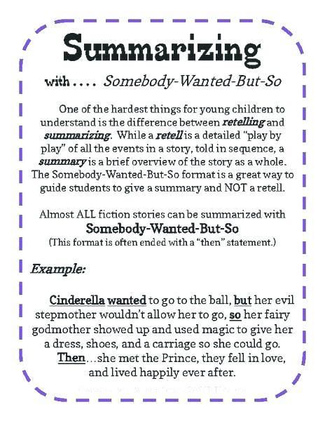 Summarizing Worksheet 4th Grade Free Summarizing Worksheets Free Printable Eighth Grade