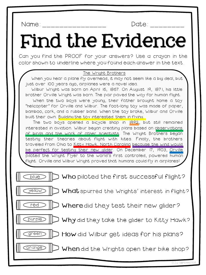 Text Evidence Worksheets 3rd Grade Copy 4 5 Text Evidence Lessons Tes Teach