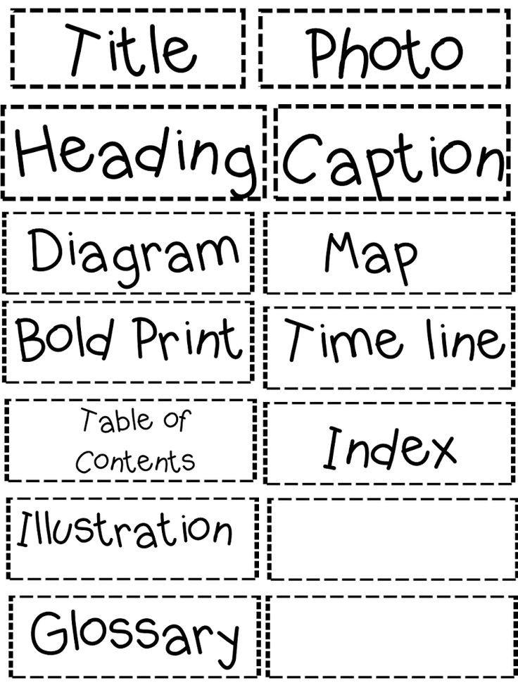 Text Structure 3rd Grade Worksheets 28 [ Text Features Worksheets ]