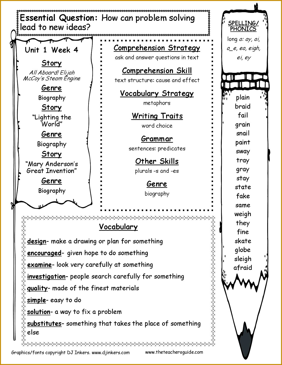 Text Structure 3rd Grade Worksheets Grade 4 Prehension Worksheet