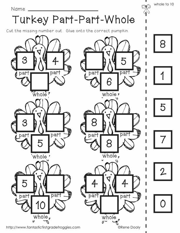 Thanksgiving Math Worksheets First Grade Fun Thanksgiving Math Worksheets & Thanksgiving Printouts