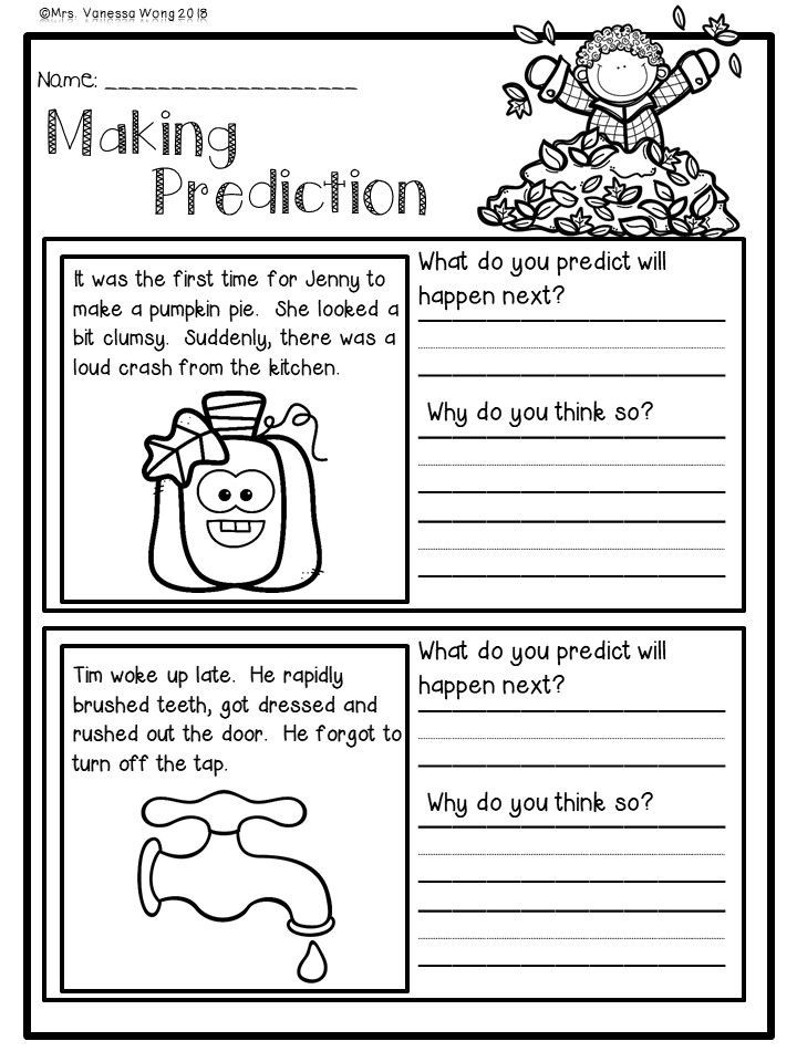 Theme Worksheets 2nd Grade Fall Activities for Second Grade Math and Literacy No Prep