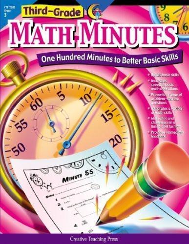 Third Grade Math Minutes 3rd Grade Math Minutes by Alaska Hults Jun 1 2002 Amazon