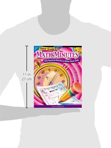 Third Grade Math Minutes Amazon Creative Teaching Math Minutes 3rd Grade
