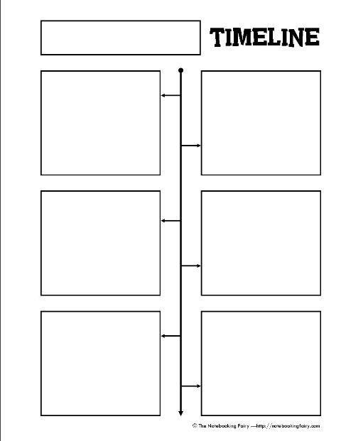 Timeline Worksheets for 1st Grade Timeline Notebook Pages Wel E to Miss Pratt S First