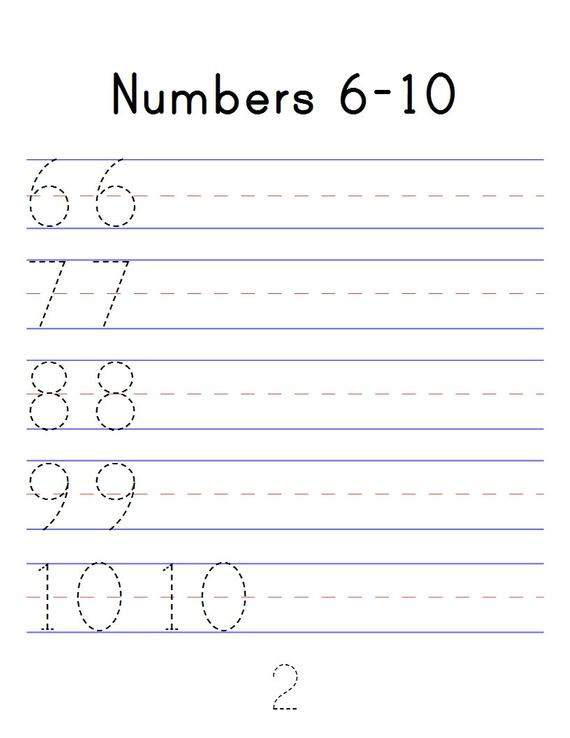 Tracing Numbers 1 20 Printable Number Tracing Workbook Numbers 1 20 Digital Pdf Printable Counting Worksheets