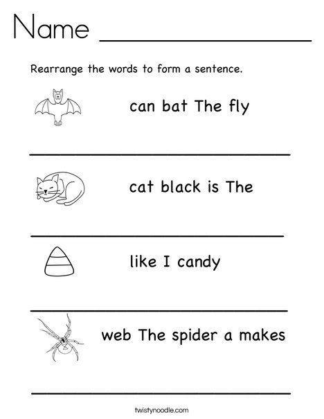 Unscramble Sentences Worksheets 1st Grade Copy 1 G Simple Pound Sentences Lessons Tes Teach