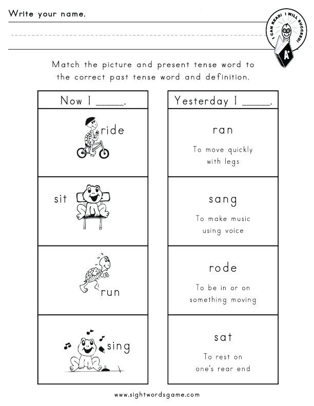 Verb Tense Worksheets 2nd Grade Nouns and Verbs Worksheets 2nd Grade – Dailycrazynews