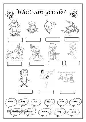 Verbs Worksheets First Grade Image Result for Verbs Actions Worksheets First Grade Con