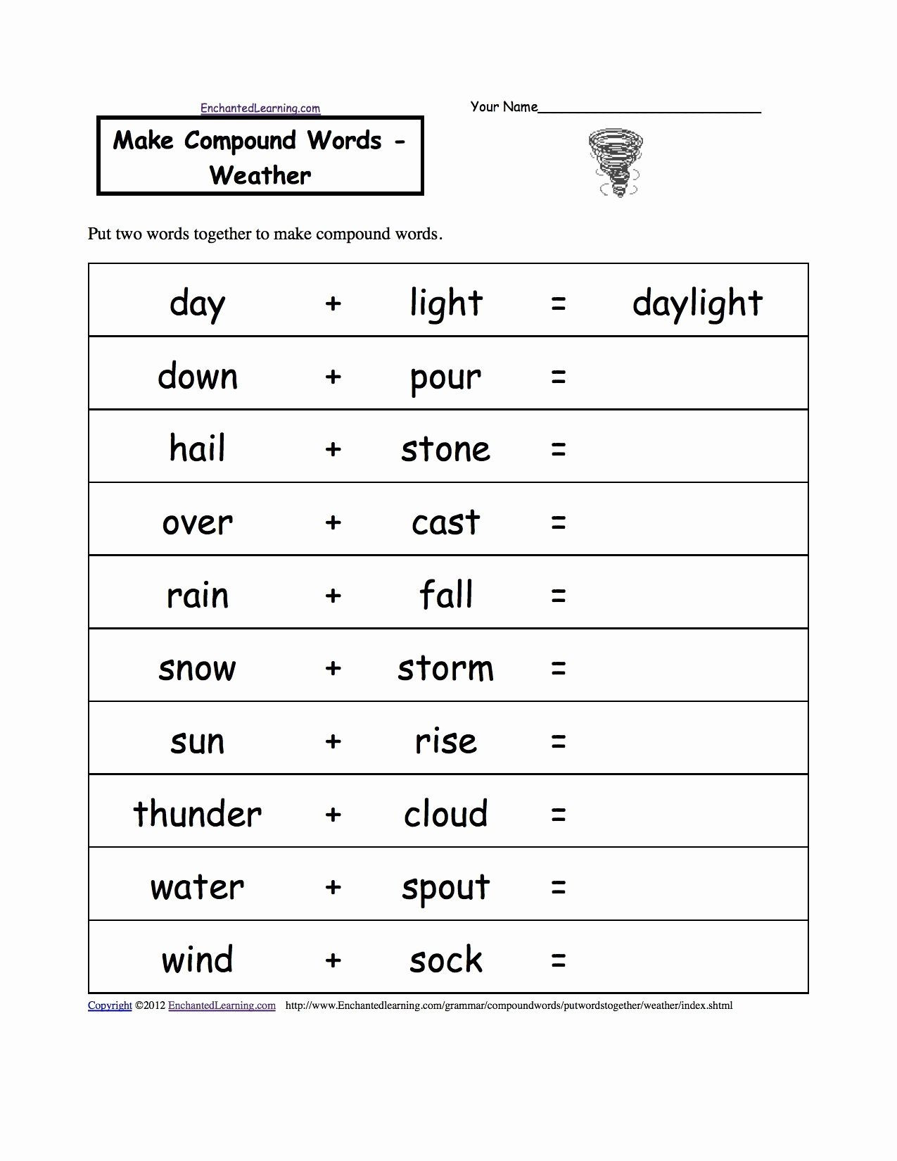 Weather Worksheets for 2nd Grade Second Grade Science Worksheets
