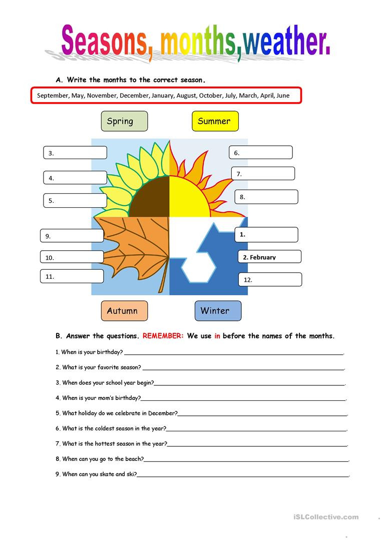 Weather Worksheets for 3rd Grade English Esl Weather Worksheets Most Ed 538 Results
